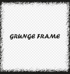 grunge frame distress background vector image
