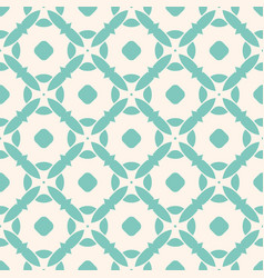 seamless vintage pattern with mosaic tiles vector image
