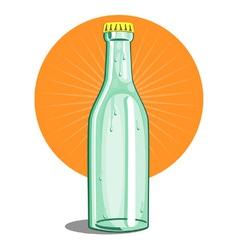Softdrink Bottle Retro vector