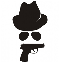 Spy accessories vector