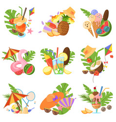 summertime spirit images vector image