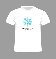 T-shirt design with vector