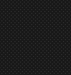 Black Polka Dot Seamless Pattern Background vector image vector image