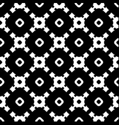Seamless texture monochrome tileable pattern vector