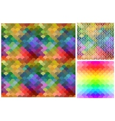 Abstract mosaic background pattern vector image vector image