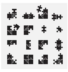 Puzzle symbol vector