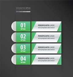 Banner and label design neon green vector