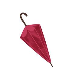 fashion autumn accessories red umbrella vector image