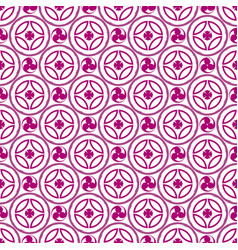 Pattern 0110 japanese symbol tomoe vector