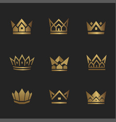 Real estate crown2 vector