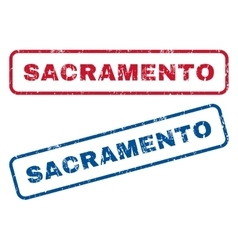 Sacramento Rubber Stamps vector
