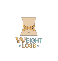 Weight loss icon weight loss icon vector