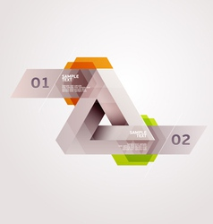Abstract form vector image