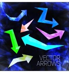 Design arrow vector