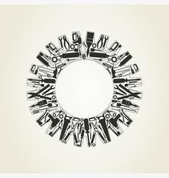 Gear wheel5 vector image