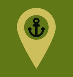 Geolocation bar sign map gps navigator mobile vector