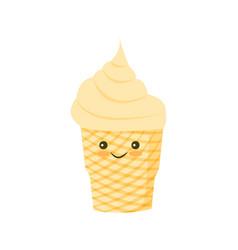 Ice cream sign vector