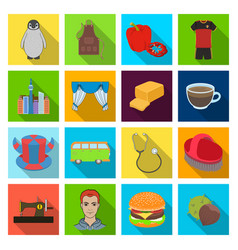 Restaurant nature fauna and other web icon vector