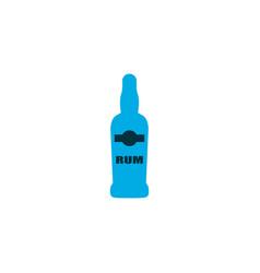rum icon colored symbol premium quality isolated vector image