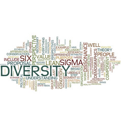 The case for diversity text background word cloud vector