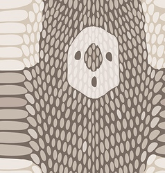 Snake skin texture Seamless python skin pattern vector image