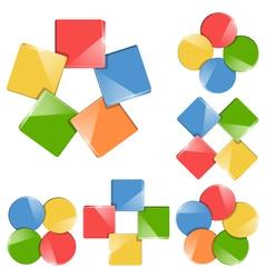 chart module vector image