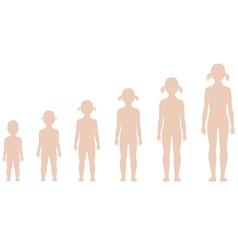 Child figure vector image