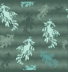 Leafy seadragon vector