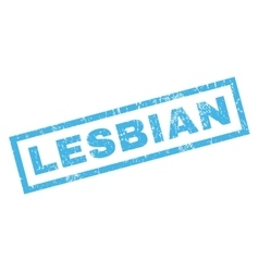 Lesbian Rubber Stamp vector