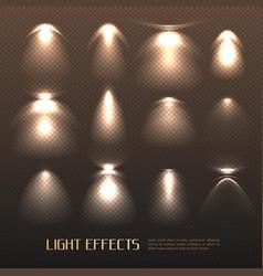 Light effects set vector