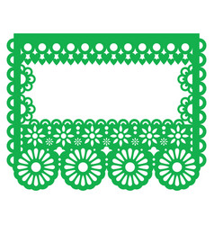 Papel picado - mexican paper decoration vector