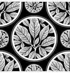 Seamless tree pattern 03 vector