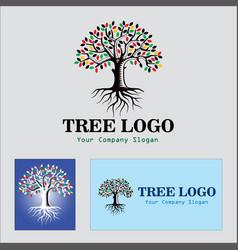Tree-logo-design-design vector