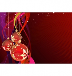 holiday card vector image