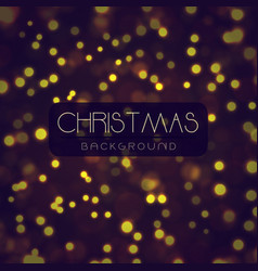 elegant merry christmas backgrounds with lighting vector image vector image