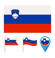 Slovenia country flag vector image