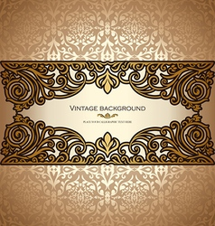 vintage card royal vector image vector image