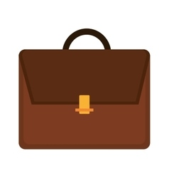 Business man suitcase graphic vector