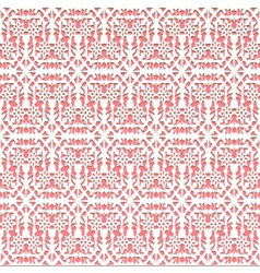 lace pink seamless pattern vector image