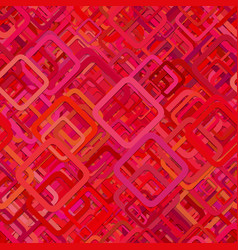 Red seamless abstract geometric square pattern vector