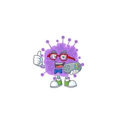 Talented coronavirus influenza gamer using control vector