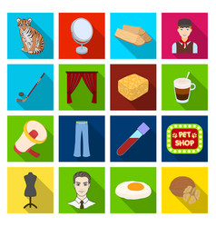 Recreation medicine industry and other web icon vector
