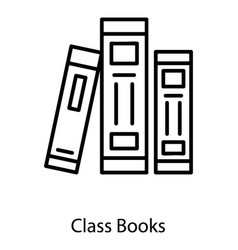 Archives books vector