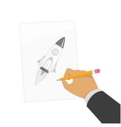 drawing school concept vector image