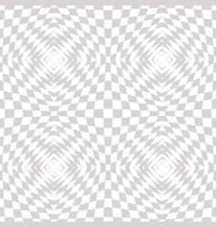 White and gray geometric checkered pattern vector
