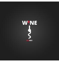 wine cellar bottle concept design background vector image vector image