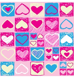 Valentine seamless pattern3 vector image vector image