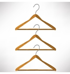 Coat Hangers vector image