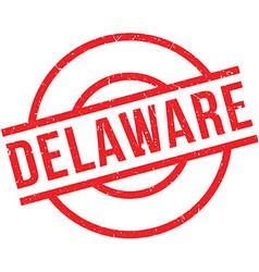 Delaware rubber stamp vector