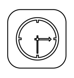 Figure symbol clock icon vector